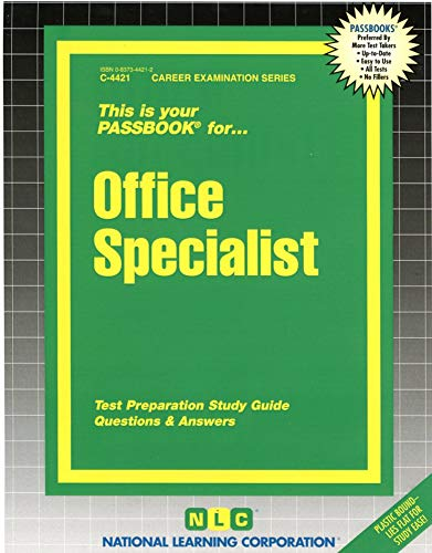 9780837344218: Office Specialist (Passbooks)