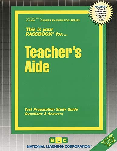 9780837344263: Teacher's Aide (Passbooks) (Passbook: Career Examinations)