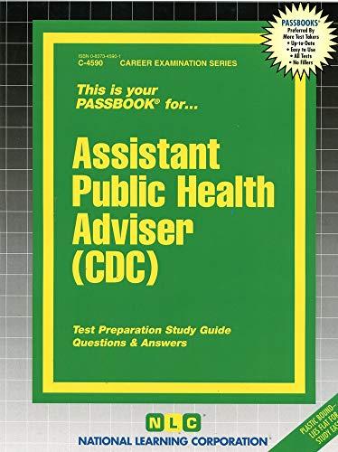 9780837345901: Assistant Public Health Adviser (CDC) (Passbooks)