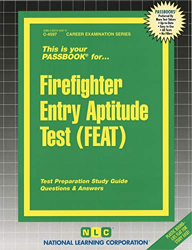 9780837345970: Firefighter Entry Aptitude Test (FEAT) (Passbooks)