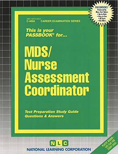 9780837346946: MDS/Nurse Assessment Coordinator (Passbooks) (Career Series (Natl Learning Corp))