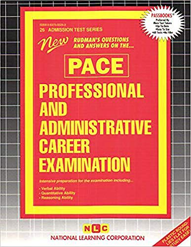 9780837350264: Professional and Administrative Career Examination (PACE)