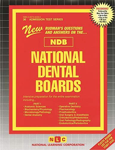 National Dental Boards (NDB) - Part I: Passbooks