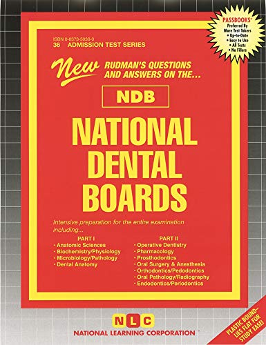 9780837350363: National Dental Boards (NDB) - Part I and Part II, One Volume (ATS 36) (Ats 36A)