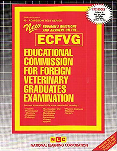 9780837350493: Educational Commission for Foreign Veterinary Graduates Examination (ECFVG)- (Admission Test Series )