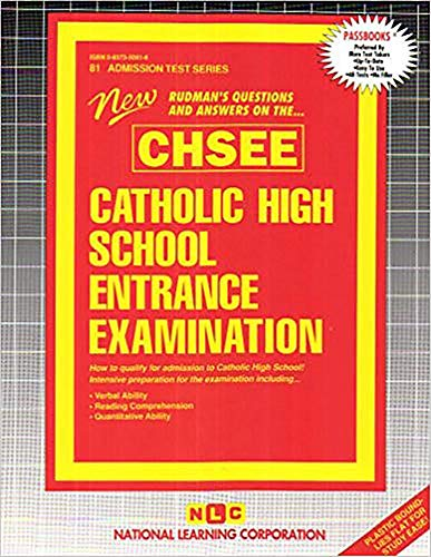 9780837350813: Catholic High School Entrance Examination (CHSEE)