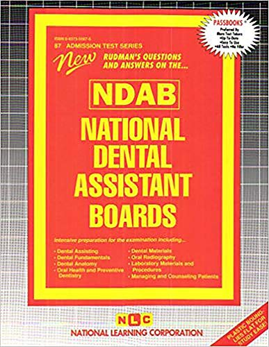 9780837350875: National Dental Assistant Boards (Ndab) (At-87)