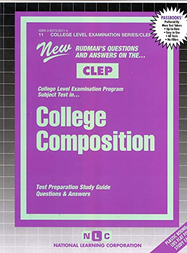 9780837353111: COLLEGE COMPOSITION (FRESHMAN) (College Level Examination Series) (Passbooks) (COLLEGE LEVEL EXAMINATION SERIES (CLEP))
