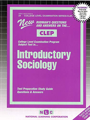 9780837353241: INTRODUCTORY SOCIOLOGY (College Level Examination Series) (Passbooks) (COLLEGE LEVEL EXAMINATION SERIES (CLEP))