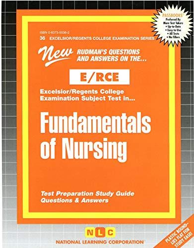 9780837355368: FUNDAMENTALS OF NURSING (Excelsior/Regents College Examination Series) (Passbooks) (Act Proficiency Exam Program Ser. : Pep36)