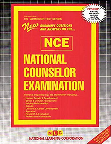 9780837358024: National Counselor Examination (NCE) (Admission Test Series)