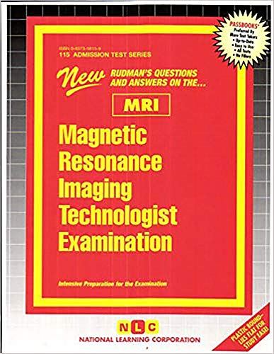 9780837358154: Magnetic Resonance Imaging Technologist Examination (MRI)