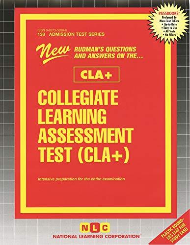 9780837358383: Collegiate Learning Assessment Test (CLA+) (Passbooks)