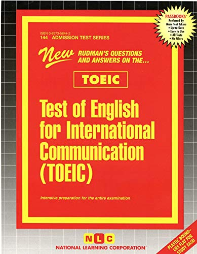 9780837358444: Test of English for International Communication (TOEIC) (Passbooks)