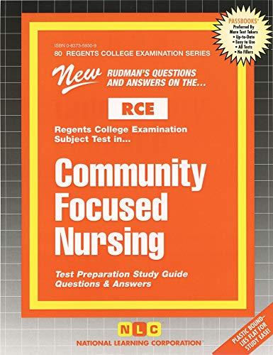 9780837359304: Community Focused Nursing (Excelsior/Regents College Examination Series) (Passbooks) (Act Proficiency Examination Program)