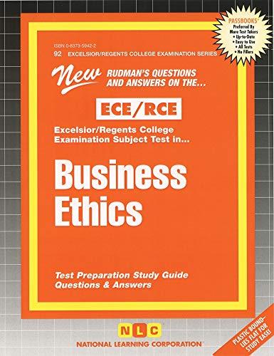 9780837359427: RCE Business Ethics (Passbooks)