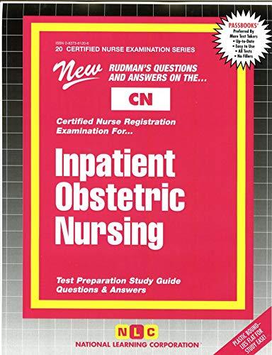 9780837361208: INPATIENT OBSTETRIC NURSING (Certified Nurse Examination Series) (Passbooks) (CERTIFIED NURSE EXAMINATION SERIES (CN))