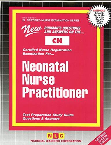 9780837361215: NEONATAL NURSE PRACTITIONER (Certified Nurse Examination Series) (Passbooks) (CERTIFIED NURSE EXAMINATION SERIES (CN))