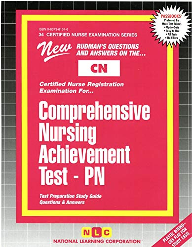 9780837361345: COMPREHENSIVE NURSING ACHIEVEMENT TEST (PN) (Certified Nurse Examination Series) (Passbooks) (CERTIFIED NURSE EXAMINATION SERIES (CN))