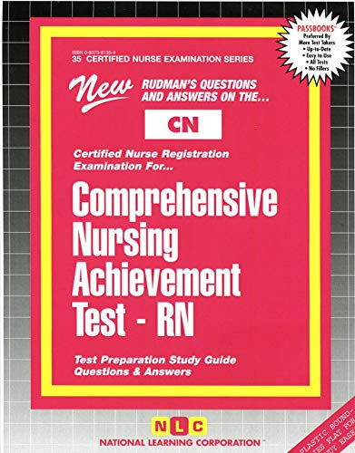 9780837361352: COMPREHENSIVE NURSING ACHIEVEMENT TEST (RN) (Certified Nurse Examination Series) (Passbooks) (CERTIFIED NURSE EXAMINATION SERIES (CN))
