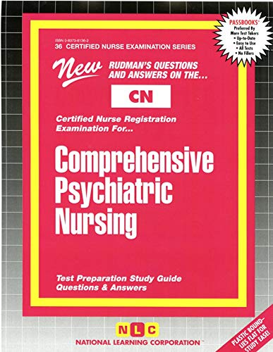 9780837361369: COMPREHENSIVE PSYCHIATRIC NURSING (Certified Nurse Examination Series) (Passbooks) (CERTIFIED NURSE EXAMINATION SERIES (CN))