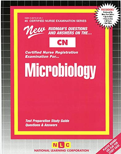9780837361451: MICROBIOLOGY (Certified Nurse Examination Series) (Passbooks) (CERTIFIED NURSE EXAMINATION SERIES (CN))