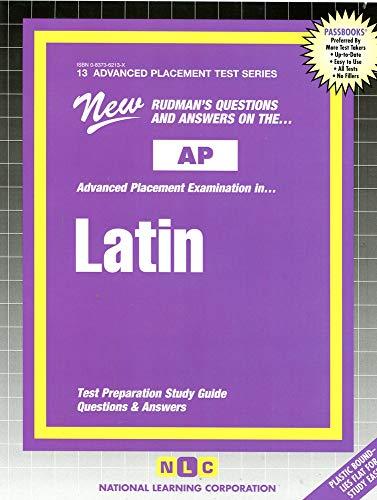 9780837362137: Latin (Vergil) (Advanced Placement Test Series)