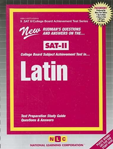9780837363097: Latin Satin (SAT II/College Board Achievement Test Series)