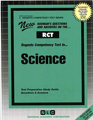 9780837364025: SCIENCE (Regents Competency Test Series) (Passbooks) (REGENTS COMPETENCY TEST SERIES (RCT))