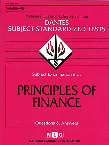 9780837366463: DSST Principles of Finance (Passbooks) (DANTES SUBJECT STANDARDIZED TESTS (DANTES))
