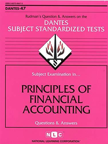 9780837366470: DSST Principles of Financial Accounting (Passbooks) (DANTES SUBJECT STANDARDIZED TESTS (DANTES))