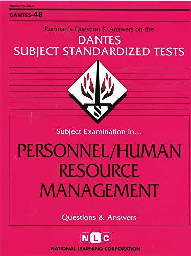 9780837366487: DSST Personnel/Human Resource Management (Passbooks) (DANTES SUBJECT STANDARDIZED TESTS (DANTES))