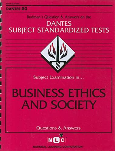 9780837366807: DSST Business Ethics and Society (Passbooks) (DANTES SUBJECT STANDARDIZED TESTS (DANTES))