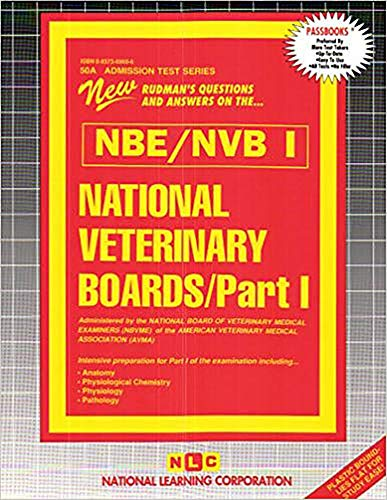 National Veterinary Boards (Nbe) (Nvb: Anatomy, Physiology ...