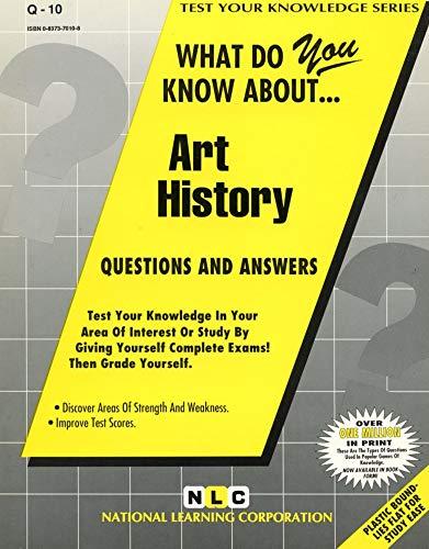 ART HISTORY (Test Your Knowledge Series): Jack Rudman