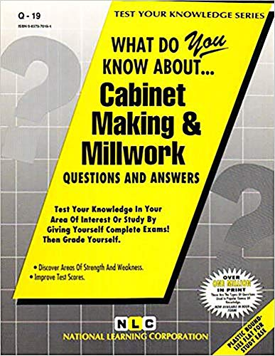 9780837370194: CABINET MAKING & MILLWORK (Test Your Knowledge Series) (Passbooks) (TEST YOUR KNOWLEDGE SERIES (Q))