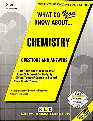 CHEMISTRY (Test Your Knowledge Series): Jack Rudman