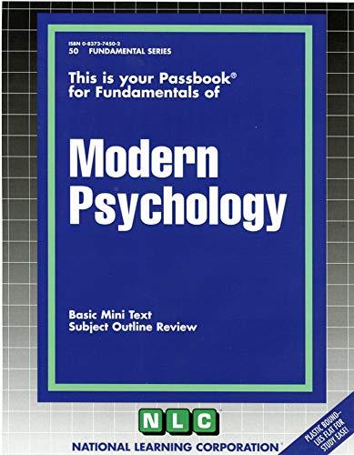 Modern Psychology: Jack Rudman