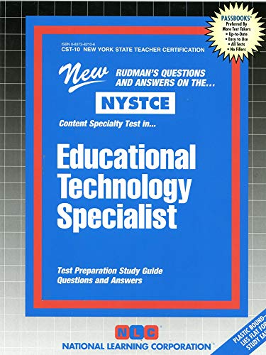 9780837382104: Educational Technology Specialist (NYS Teacher Certification) (Passbooks)
