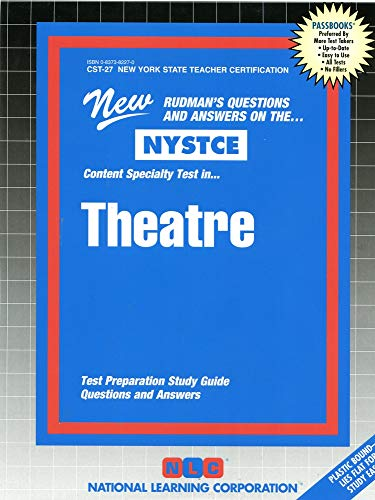 9780837382272: Theatre (NYS Teacher Certification) (NYSTCE (New York State Teacher Certification Exams))