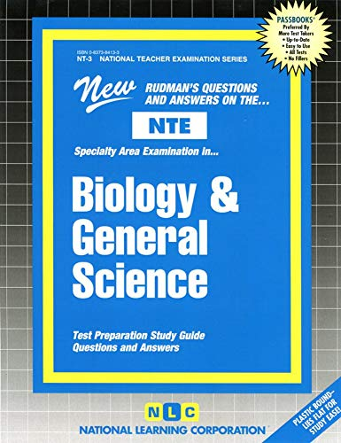 Biology and General Science: National Learning Corporation