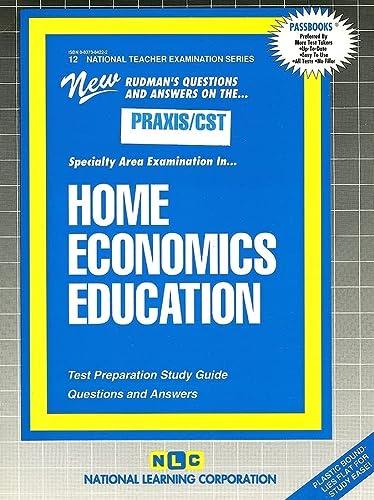 HOME ECONOMICS EDUCATION (FAMILY CONSUMER SCIENCE) (National: Jack Rudman
