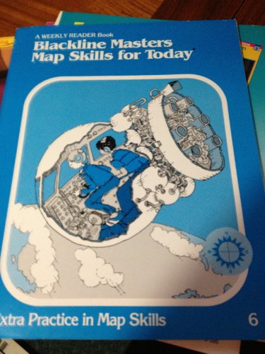 9780837413419: Blackline Masters Map Skills for Today (A Weekly Reader Book)