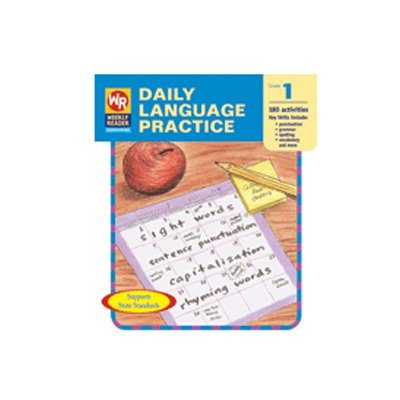 9780837480589: Daily Language Practice, Grade 1 (Weekly Reader, WR 160)