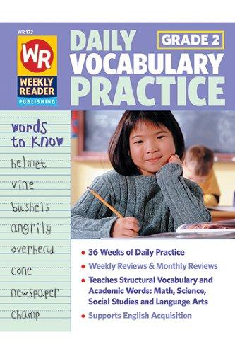 Daily Vocabulary Practice, Grade 2 (Weekly Reader, WR 173): Sue Labella