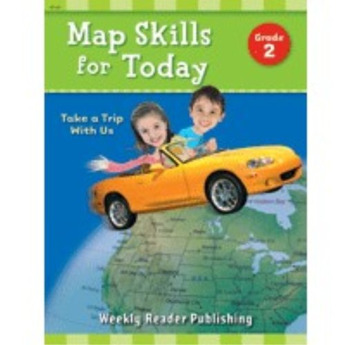 9780837482071: Map Skills for Today: Take a Trip with Us, Grade 2