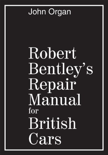 9780837600413: Robert Bentley's Repair Manual for British Cars