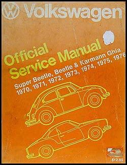 Volkswagen Official Service Manual Type 1: Super: Volkswagen of America,