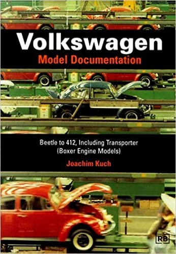 9780837600789: Volkswagen: Model Documentation: Beetle to 412, Including Transporter (Boxer Engine Models)