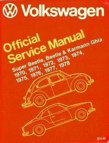 Volkswagen beetle super beetle karmann ghia official service manual volkswagen beetle super beetle karmann ghia official inc volkswagen of fandeluxe Gallery